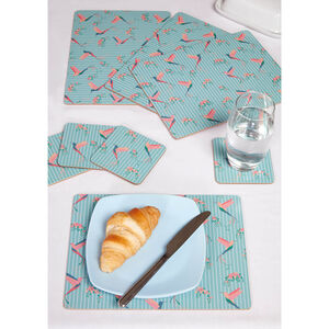 Hummingbird Mats & Coasters 4 Pack