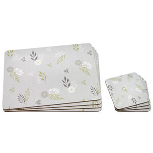 Botanic Love Mats & Coasters 4 Pack