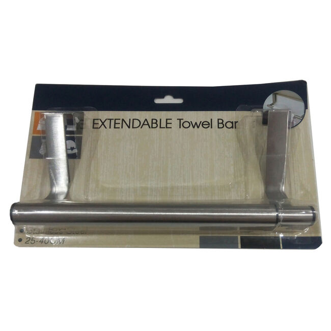 Over Drawer Extendable Towel Bar