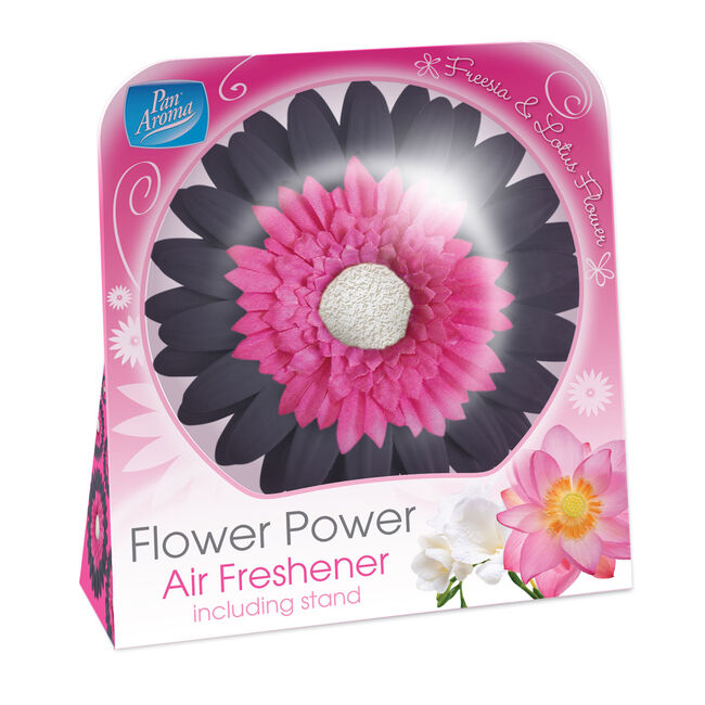 Free Standing Flower Power Air Freshener