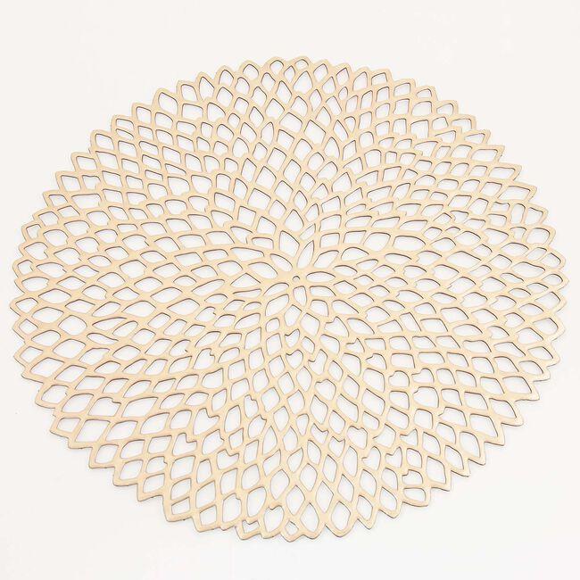 Petals Placemat - Gold
