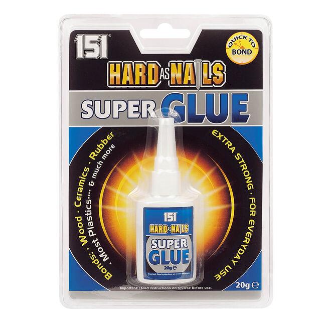 Hard As Nails Super Glue