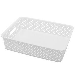 Geometric 6.5L White Basket