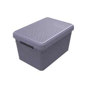 Ezy Mode Lidded Basket 17.3L