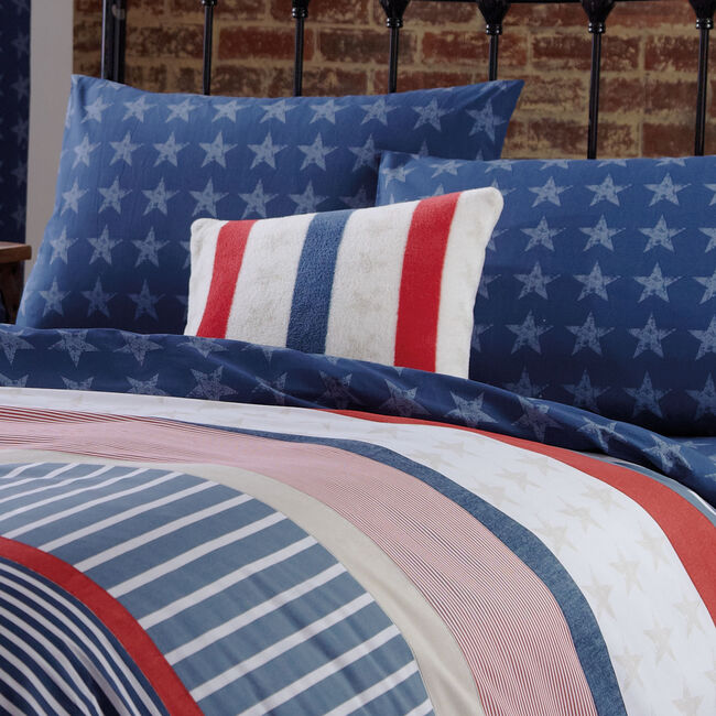 Stars and Stripes Cushion 45cm x 45cm