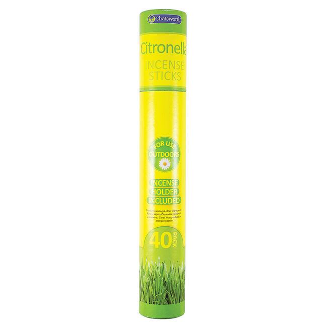 Chatsworth Citronella Incense Sticks