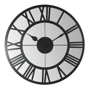 Industrial Clock Black 50CM