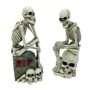 Halloween Light Up Skeleton Ornament