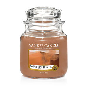 Yankee Candle Warm Desert Wind Medium Jar