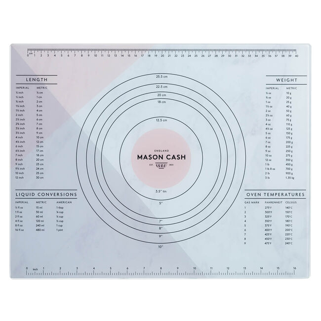 Mason Cash Glass Pastry Measuring Board