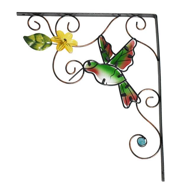 Hummingbird Hanging Basket Bracket