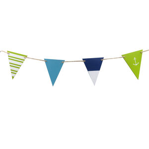 Wooden Flag Bunting
