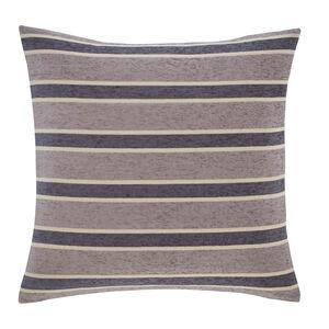 Sarah Stripe Grey Cushion 58cm x 58cm