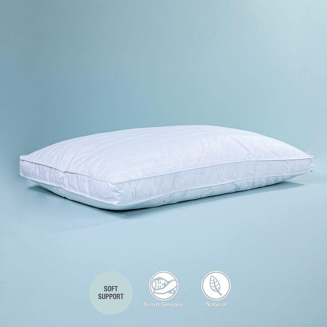 Bedding Bliss Pillow Duck Feather & Down