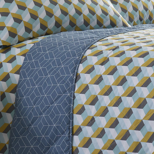 Jeremy Bedspread 200x220cm - Ochre