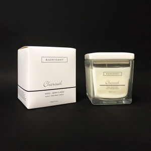 Raincoast Charcoal Ceramic Scented Candle