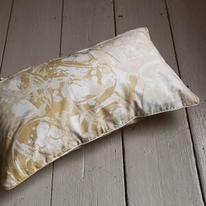 Marble Tile Natural Cushion 30cm x 50cm