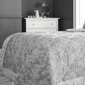 Millie Grey Bedspread 200cm x 230cm