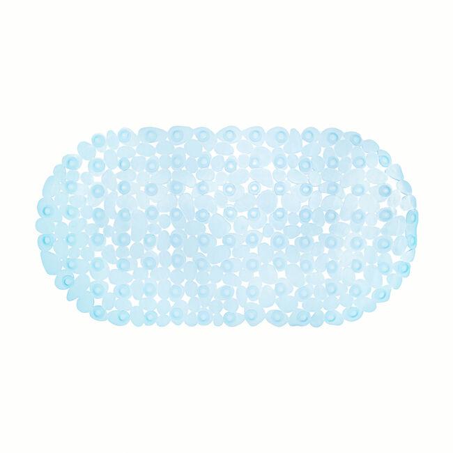 Cobbles Blue Bath Mat 68cm x 35cm