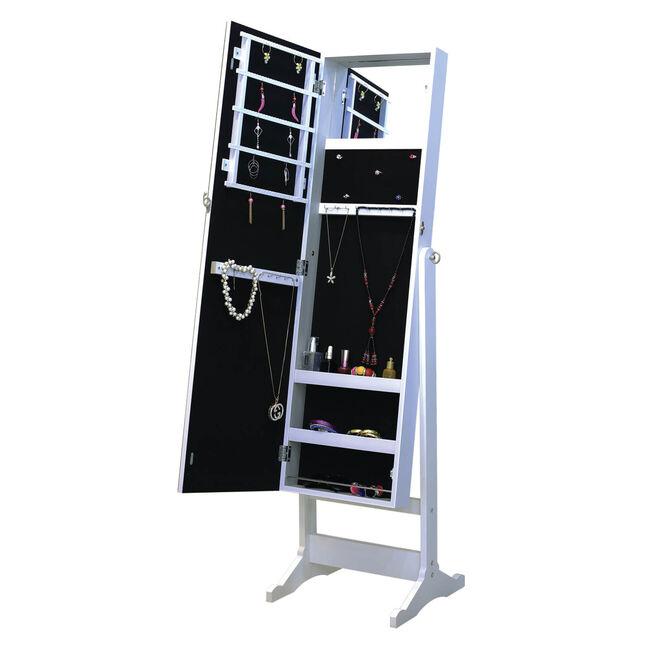 Cambria Sparkle Mirrored Jewellery Cabinet