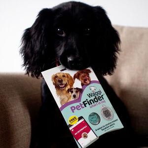 Waggi Pet Finder Smart ID Tag