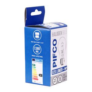 Pifco Halogen 52W Bulb (GLS PIF1074 BC)