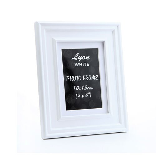 "Lyon Photo Frame 6x8"" - White"