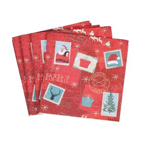 Northpole Express Napkins - 20 Pack
