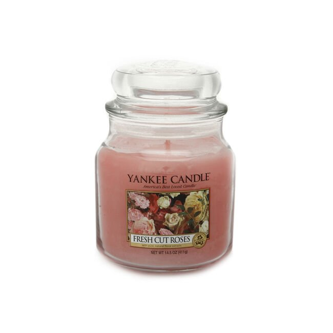 Yankee Candle Fresh Cut Roses Medium Jar