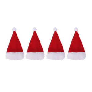 Santa Hat Cutlery Holders - Set of 4