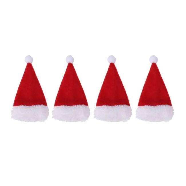 Santa Hat Cutlery Holders - Set of 4