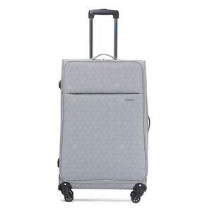 Large Grey Maze Lightweight Luggage