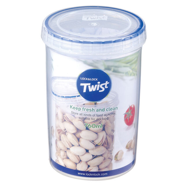 Lock & Lock Twist Round Container 760ml