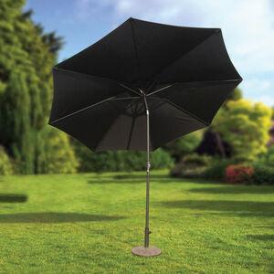 3M Crank & Tilt Sun Parasol Black