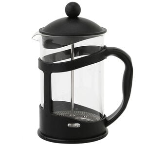Glona Black Glass Cafetiere 800ml