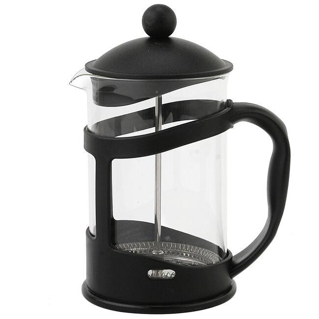 Glona Black Glass Cafetiere 800ml