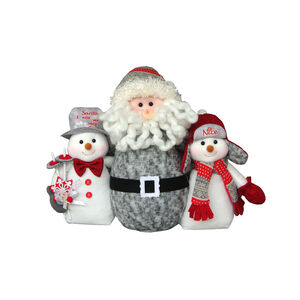 Nordic Santa with Family