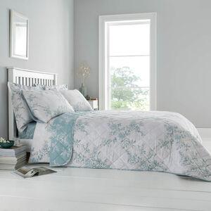 Laura Bedspread 200x220cm - Duck Egg