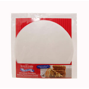 20cm Baking Parchment Circles 100 Pack