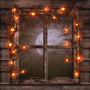 Halloween LED Orange Garland