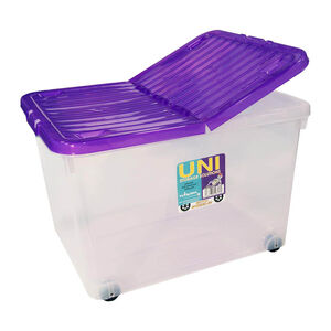 Storage Container with Wheels 44L