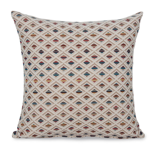 Iona Diamond Cushion 43x43cm - Natural