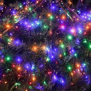 100 Multicolour LED Cluster Lights