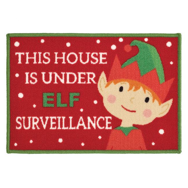Elf Surveillance Doormat 40x60cm