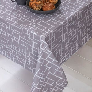Vector Grey Table CLoth 160 x 230cm