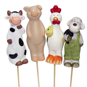 Pot Stick Farmyard Friends