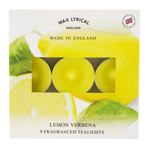 Lemon Verbena Box Of Tealights