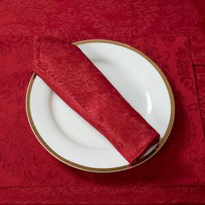 Damask Medallion Napkins 4 pack - Red
