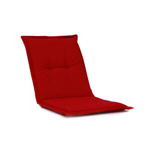 Low Back Chair Cushion Red 100x48x4cm 052450