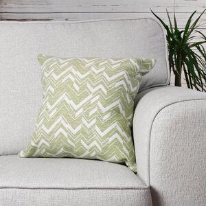 Qattara Green Cushion 45cm x 45cm
